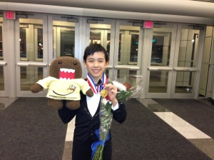 Vincent Zhou with Domo