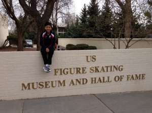 Vincent at U.S. Figure Skating Hall of Fame
