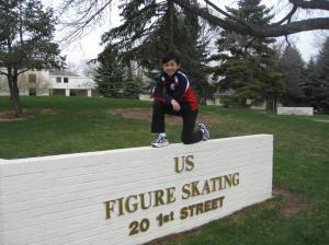Vincent at USFSA HQ