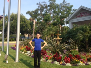 At Hilton Garden Inn right next to Toyota Sports Center