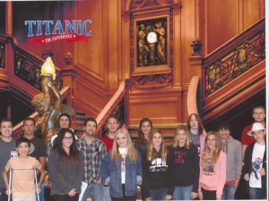 A field trip to the Titanic Exhibition