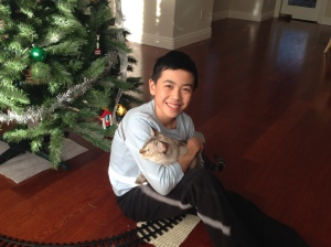 Season's greetings from Vincent and Snooki Zhou!