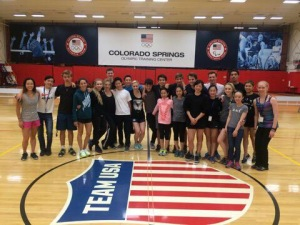 Skaters at the ISP Singles Camp