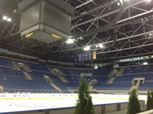 Arena of Ondrej Nepela, Bratislava, Slovakia