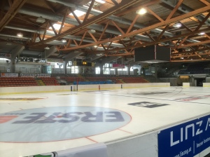 The competition rink