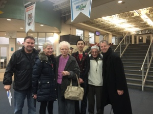 Coach Tom's parents and other family members in Ohio all came to support me. What an honor!