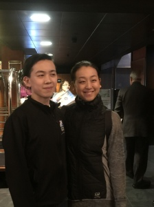 Vincent with Mao Asada
