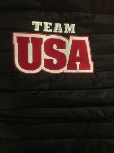 The back of World Junior Team jacket