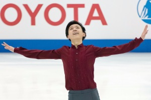 The ending pose of my short program